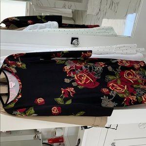 Lularoe julia dress. Elegant collection. Sz med